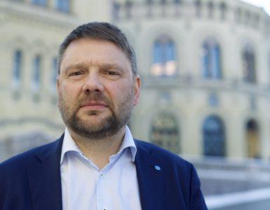 Jonny Berfjord, styreleder i Fiskebåt
